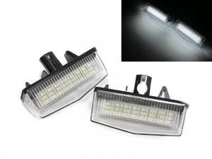 CrazyTheGod PRIUS 2003-2015 Hatchback 5D LED License Lamp for TOYOTA