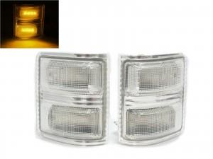CrazyTheGod F250/F350/F450/F550/SUPER DUTY 2008-2016 Pickup Truck/Ute/Bakkie 2D LED Mirror Light Chrome for FORD