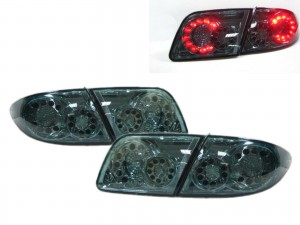 CrazyTheGod Mazda6/Atenza First generation 2002-2008 Sedan/Hatchback 4D/5D LED Tail Rear Light Dark Green for MAZDA