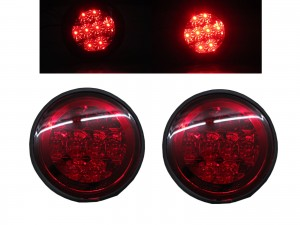 CrazyTheGod Altezza XE10 First generation 1999-2005 Sedan/Hatchback/Wagon 4D/5D LED Tail Rear Light Red for TOYOTA